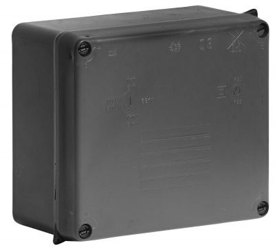 Wiska-Surface-Sealed-Box-IP65-Black-165-x-145-x-84-817N