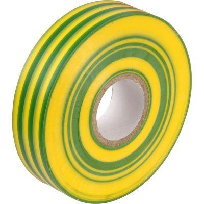 PVC-Insulation-Tape-Green/Yellow-19mm-x-33mm-093-252-030
