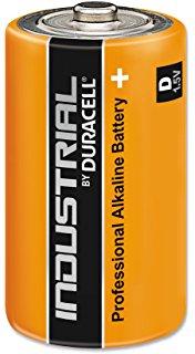 Duracell Industrial D Alkaline Batteries - Pack of 10