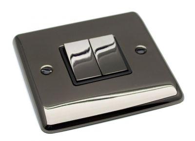 2-Gang-Double-10A-Light-Switch-D02BN