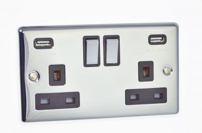 USB - Twin Ports 3.1a - W65PCB