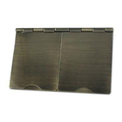 Antique-Brass-Floor-Socket-13A-FL07AN