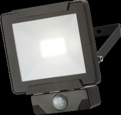 230V IP65 20W LED Floodlight with PIR sensor 4000K