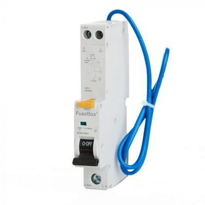FuseBox RTA061030B RCBO SPN Type A 10A 30mA 6kA