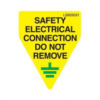 Safety-Electrical-Connection-Do-Not-Remove-Safety-Label-Pack-of-10-VUEP012