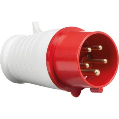 415V IP44 16A Plug 3P+N+E