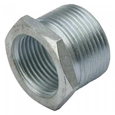 38mm to 20mm Galvanised Reducer (Sold in 1's)