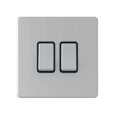 2-Gang-Double-10a-Light-Switch-SG02BCB