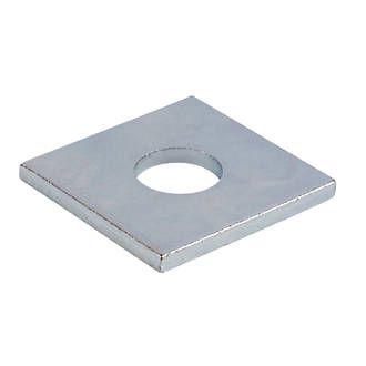 M6 Flat Square Plate