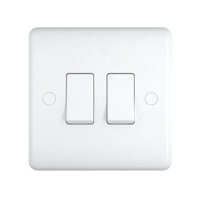 2-Gang-Double-10a-Light-Switch-ST02W