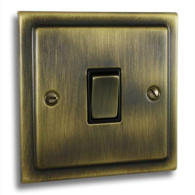 Victorian-1-Gang-Single-10a-Light-Switch-Antique-Brass