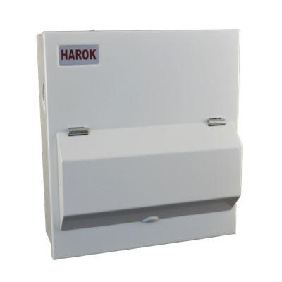 Harok - Amendment 3 Consumer Unit 6 Way C/w 100a Main Switch