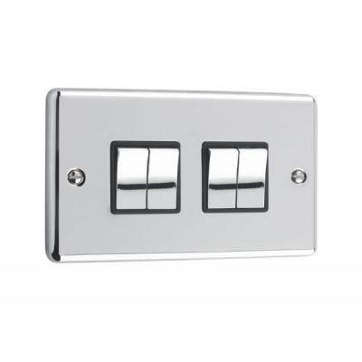 4-Gang-Quad-10A-Light-Switch-W04PCB