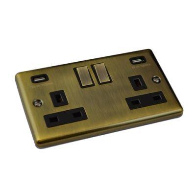 antique-brass-windsor-usb-double-socket