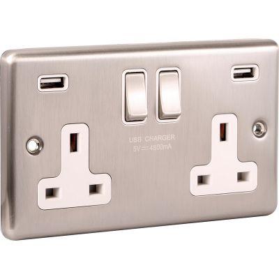 USB - Twin Ports 4.8a - W66BSW