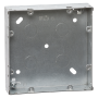 Mini Grid 2 Tier (6 to 8 Gang) Backbox - 35mm Galvanised
