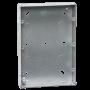 Mini Grid 3 Tier (9 to 12 Gang) Backbox - 35mm Deep Galvanised